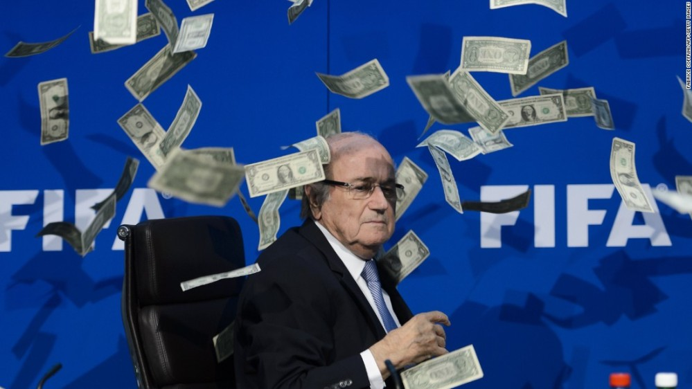 sepp blatter money